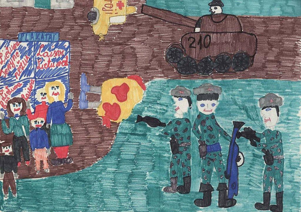 Misiūnaitė Ramunė, 5c klasė. Jonava